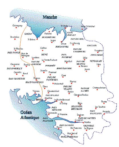 carte bretagne limite linguistique