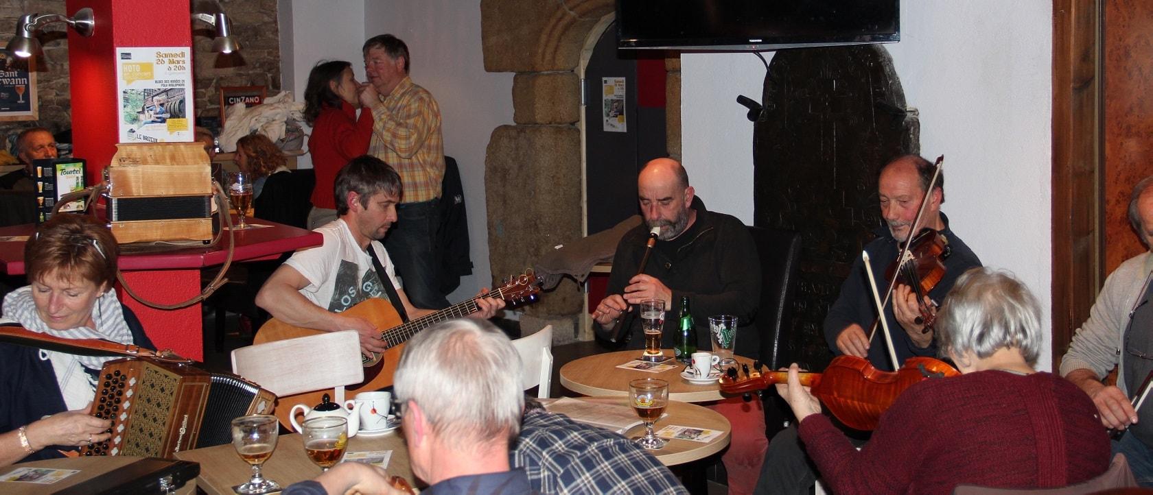 Boeuf musical au Brizeux à Quimperlé